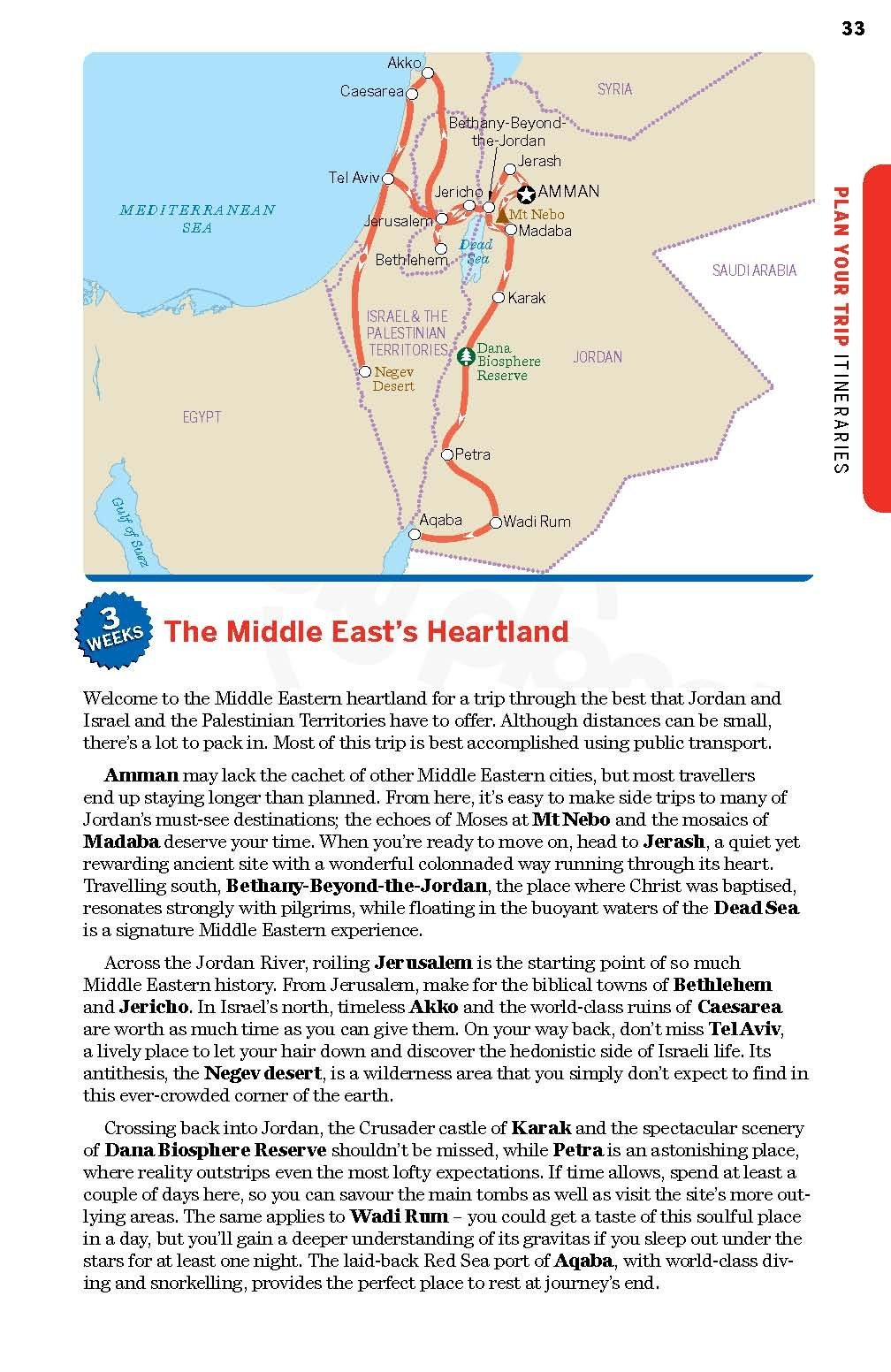 Middle East (Lonely Planet Travel Guide): Amazon.de: Planet ...