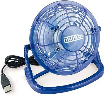 mumbi - mini ventilador USB, ventilador pequeño para escritorio ...