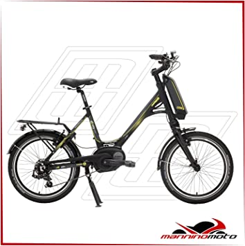 Bicicleta eléctrica Lombardo 20 e-mia Nexus Motor Bosch Active – 300 WH – 2017, NERA,GIALLA: Amazon.es: Deportes y aire libre