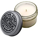 Mr Zogs Sex Wax The Original Coconut Scented Candle - 4ounce Glass Jar - Perfect for Home / Office / Kitchen / Bathroom