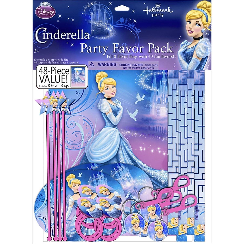 Disney Princesses Birthday Party Supplies 48PC Mega Value Favor Pack
