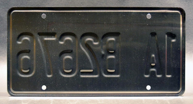 Castiels Pimpmobile M/étal estampill/é Celebrity Machines Supernatural Plaque dimmatriculation 1A B2676