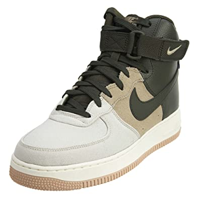 Nike Men S Air Force 1 High 07 Lv8 Light Bone Sequoia Khaki Sail