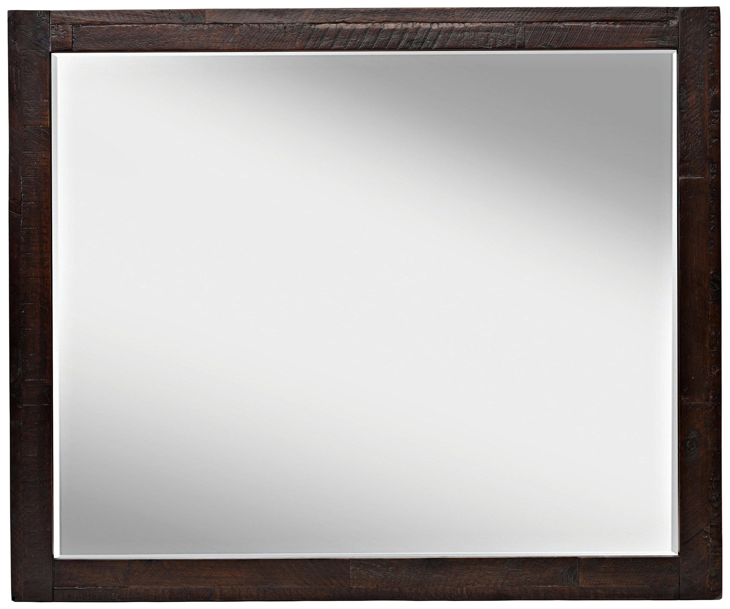 Jofran: 707-20, Kona Grove, Landscape Mirror, 42''W X 3''D X 35''H, Deep Chocolate Finish, (Set of 1) by Jofran