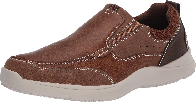 Nunn Bush Men's Conway Slip-on Moccasin Toe with Comfort Gel Loafer