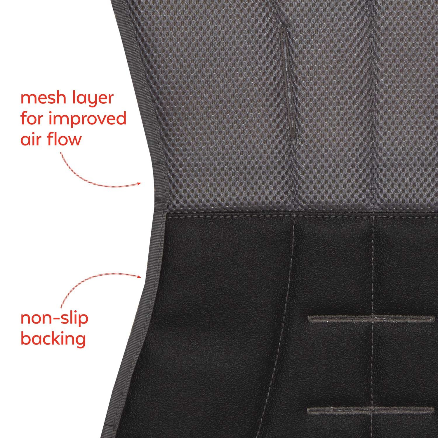 Skip Hop Stroll-and-Go Cool Touch Stroller Liner, Grey Feather by Skip Hop (Image #7)