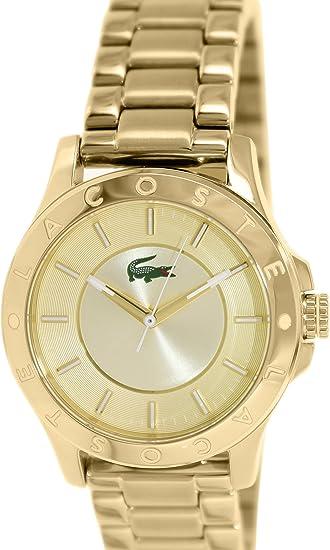 Lacoste Reloj Analógico para Mujer de Cuarzo con Correa en Acero Inoxidable 7613272139922: Amazon.es: Relojes