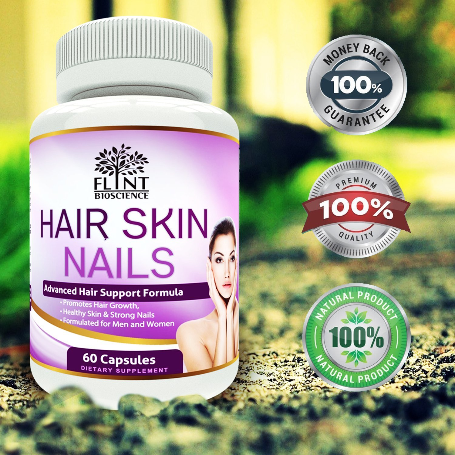 Amazon.com: Hair Skin and Nails Vitamins, Tested & Proven Supplement ...