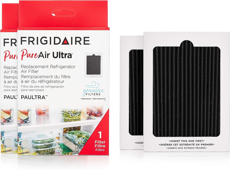 "Frigidaire PAULTRA2PK PAULTRA PureAir Ultra 2 Pack Air Filter, 6.5"" x 4.75"", 2 Count"