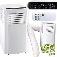 3in1 Mobiles Klimagerät 2,1KW Kühlleistung inkl. Fernbedienung, Klimaanlage, Ventilator, Luftentfeuchter in einem Gerät | Kältemittel R290 | 65dB(A)