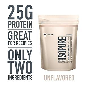 Isopure Whey Protein Isolate Powder