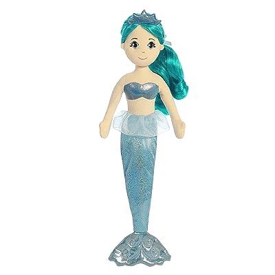 Aurora World Sea Sparkles Mermaid Plush, Mala: Toys & Games