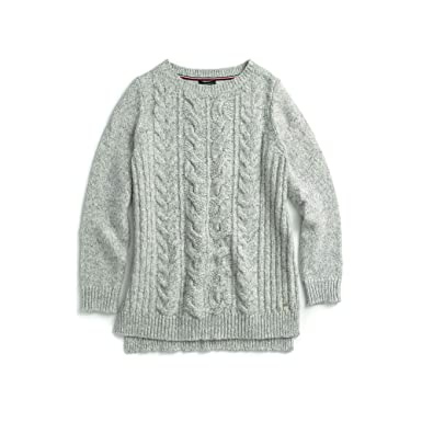 0bc3b838 Tommy Hilfiger Women's Adaptive Cable Knit Sweater at Amazon Women's  Clothing store:
