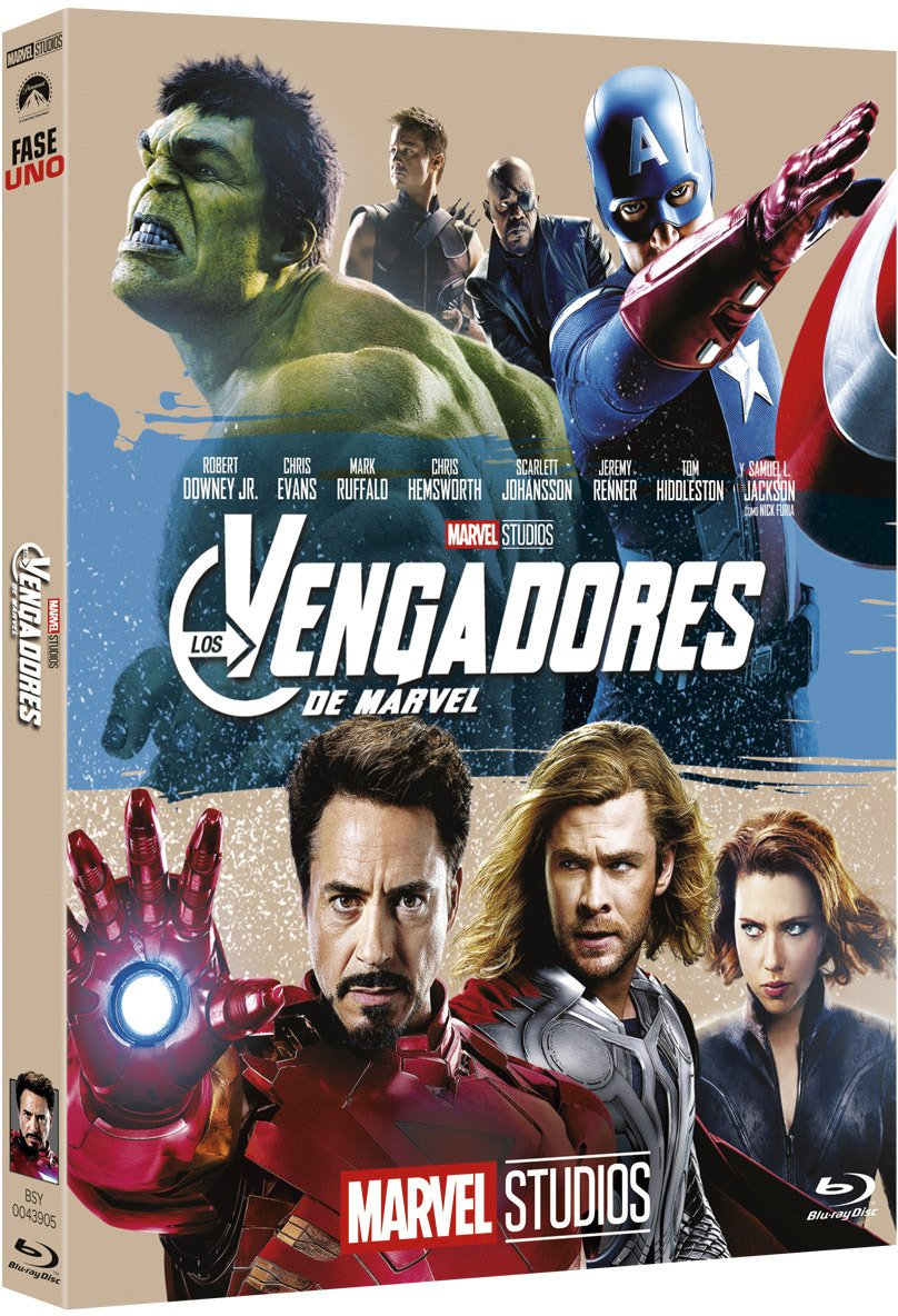 Los Vengadores - Edición Coleccionista [Blu-ray]: Amazon.es: Robert Downey Jr, Chris Evans, Mark Ruffalo, Chris Hemsworth, Scarlett Johansson, Joss Whedon, Robert Downey Jr, Chris Evans: Cine y Series TV