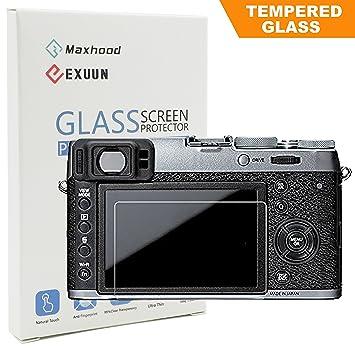 Fujifilm X100F X100T X E2 E2S Tempered Glass Screen Protector