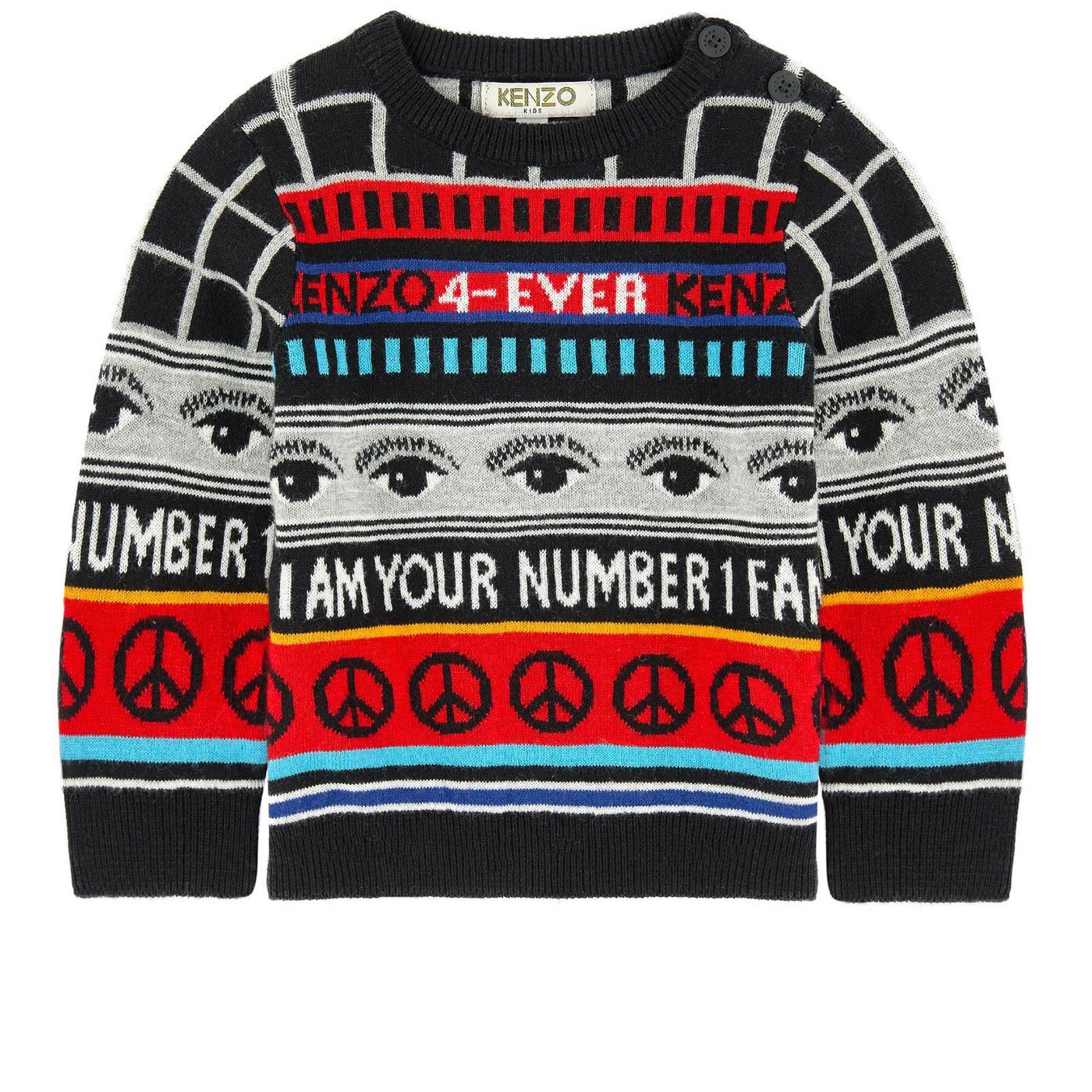 Sweater Boy KENZO KIDS K18518 2 Autumn Winter 2017
