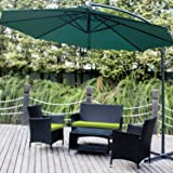 Leisure Zone 4 PCS Patio Furniture Outdoor...