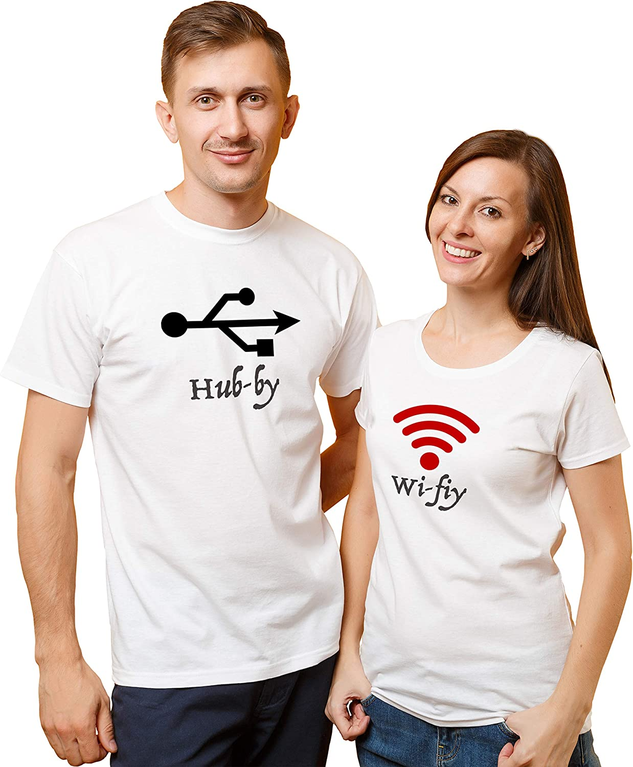 Amazon Com Valentines Day Couple Matching Love T Shirt Cute Icon Gift Tee Set Boyfriend Girlfriend Better Together Perfect Match Hub By And Wi Fiy Design 11 Men