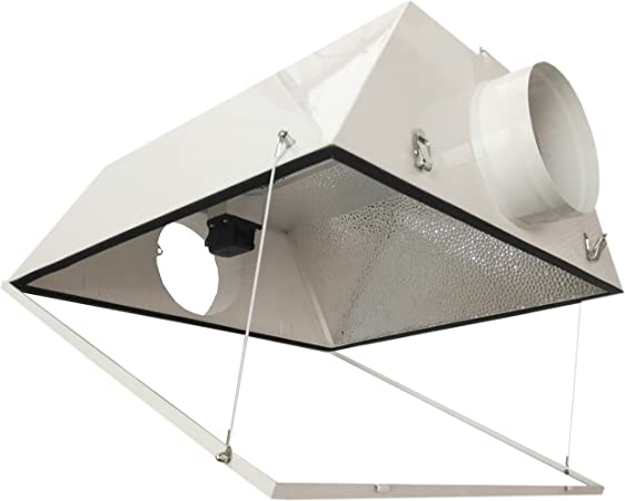 """Amazon.com : Hydro Crunch 6"""" Double Ended Air Cool Reflector/Glass ..."""