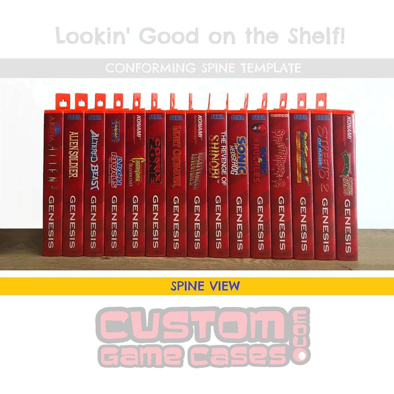 Sega Genesis Aaahh! Real Monsters - Case