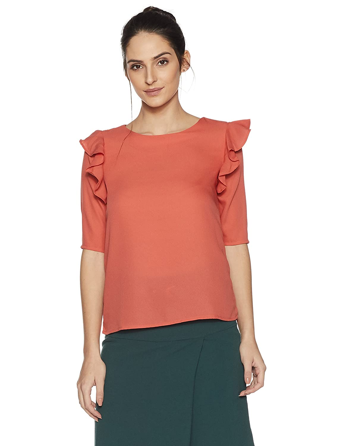 Women's Ruffle Blouse Top