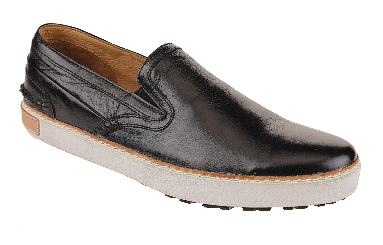Blackstone Men's Slipon Walking Shoe 43 M EU / 9.5-10 D(M) US|Black Athene