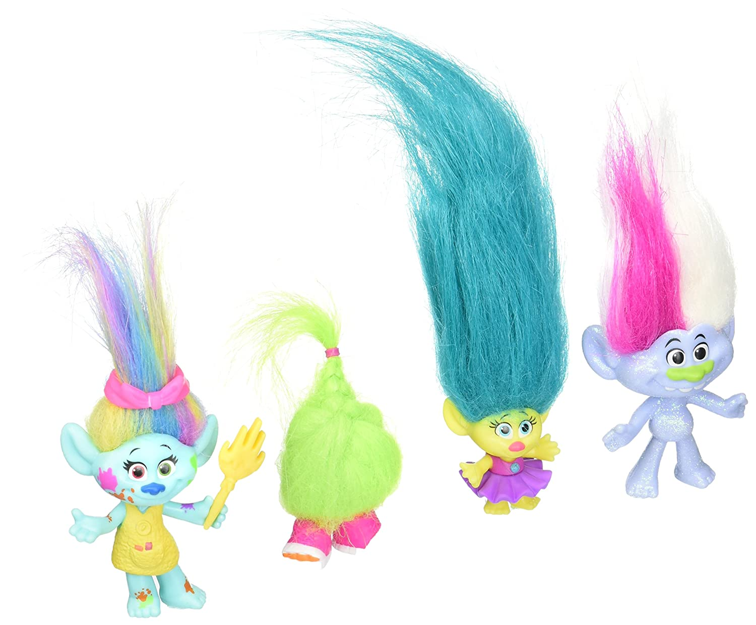 Amazon.com: Trolls DreamWorks Wild Hair Pack: Toys & Games