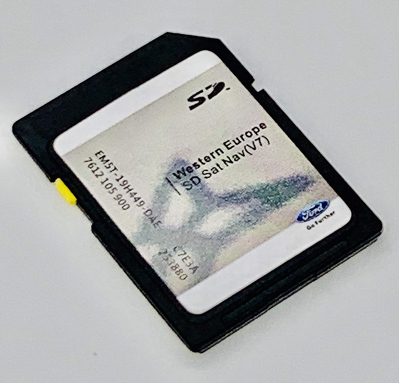 Tarjeta SD 2020 para Ford Sony (pantalla no táctil) V7 Mapa de tarjetas SD para cubrir toda Europa, EM5T-19H449-DAE: Amazon.es: Electrónica