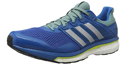 8db97e2ebcb adidas Men s s Supernova Glide 8 Competition Running Shoes Unity  Blue Silver Metallic Vapour Steel