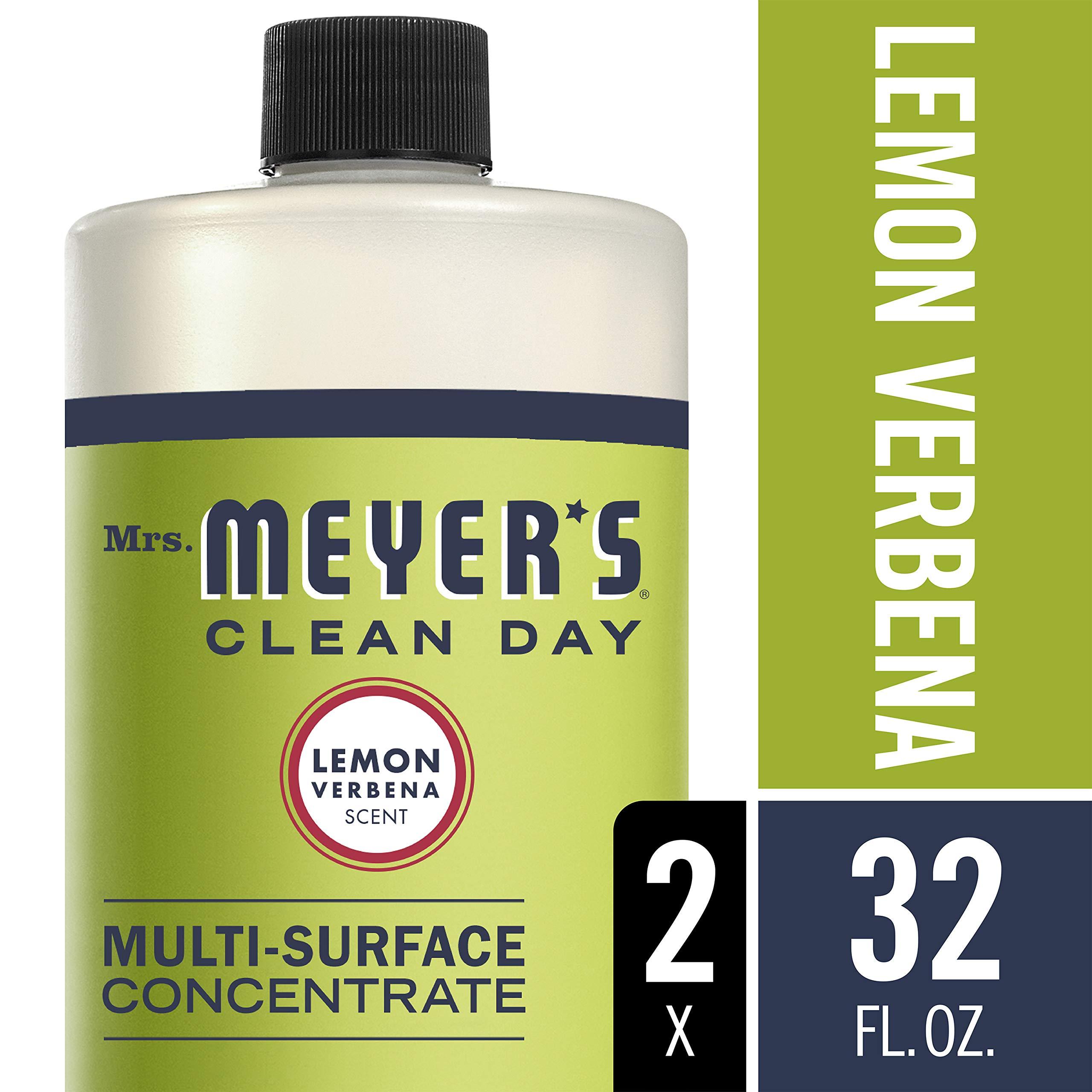 Mrs. Meyer's Clean Day Multi-Surface Concentrate, Lemon Verbena, 32 fl oz, 2 ct
