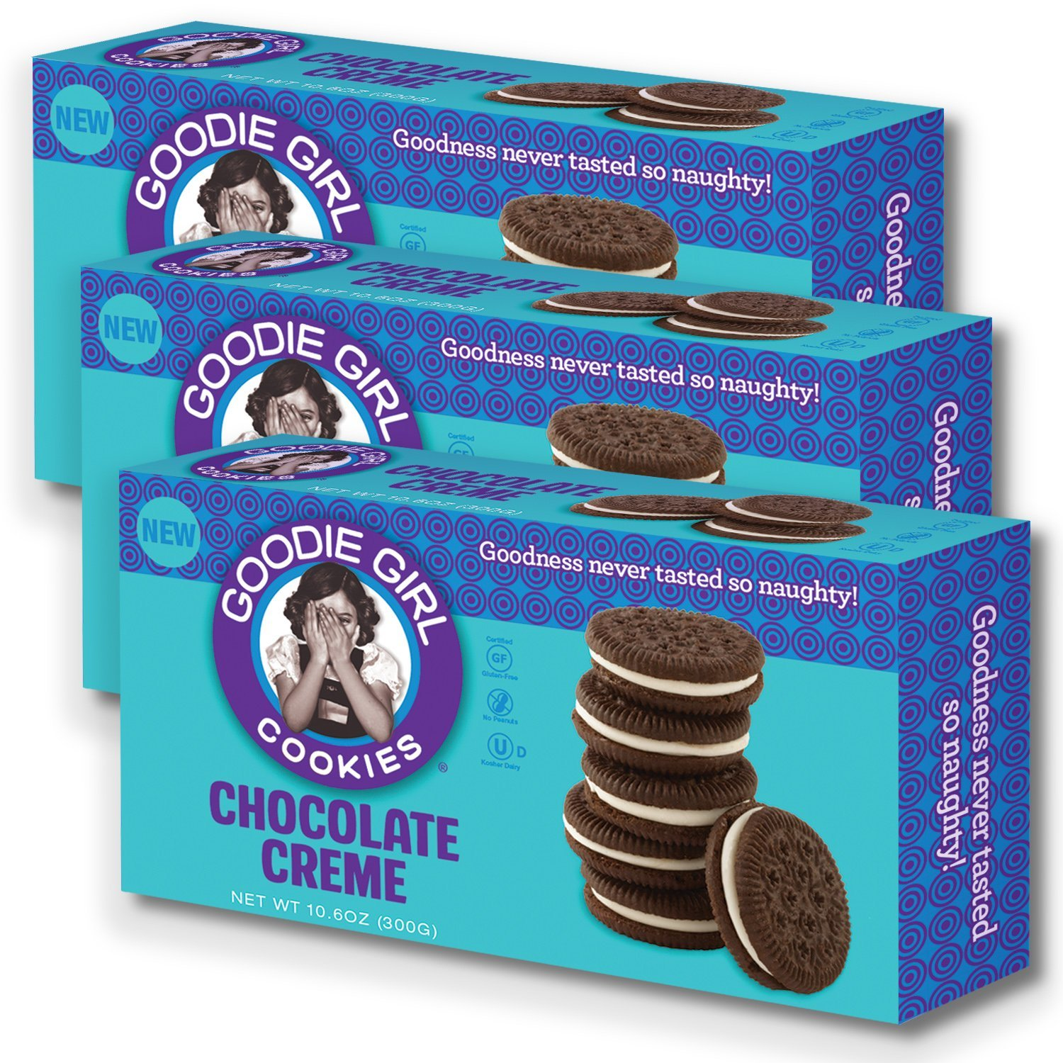 Amazon.com: Goodie Girl Cookies, Chocolate Creme Sandwich Gluten ...