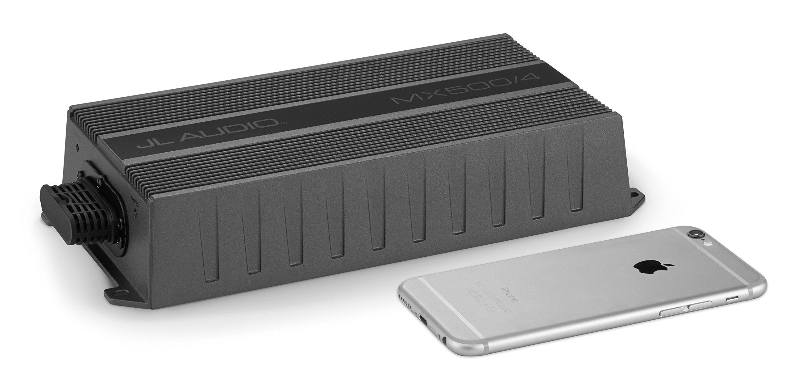 JL Audio MX500/4: 4 Ch. Class D Full-Range Amplifier, 500 W