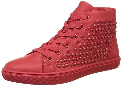 e71d0078a64 Steve Madden Women s Ivyyy Red Sneakers - 5 UK India (37.5 EU)(7 US ...