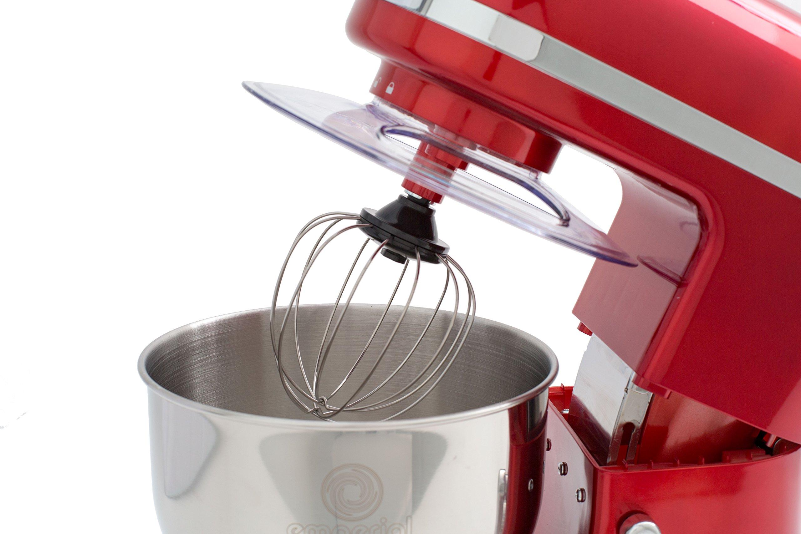 Emperial Stand Mixer 5.2 Litre Bowl, Splash Guard, Dough