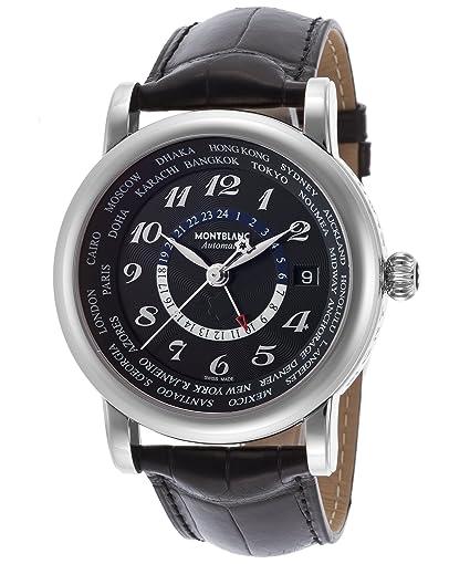Montblanc hombre 109285 Star pantalla analógica Swiss - Reloj automático negro: Montblanc: Amazon.es: Relojes