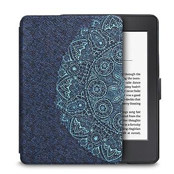 Qissy Kindle Paperwhite Protectora Funda - Ultra Slim Ligera Shell Funda Carcasa con Auto-Sueño/Estela Función para Amazon Kindle Paperwhite 1/2/3 ...