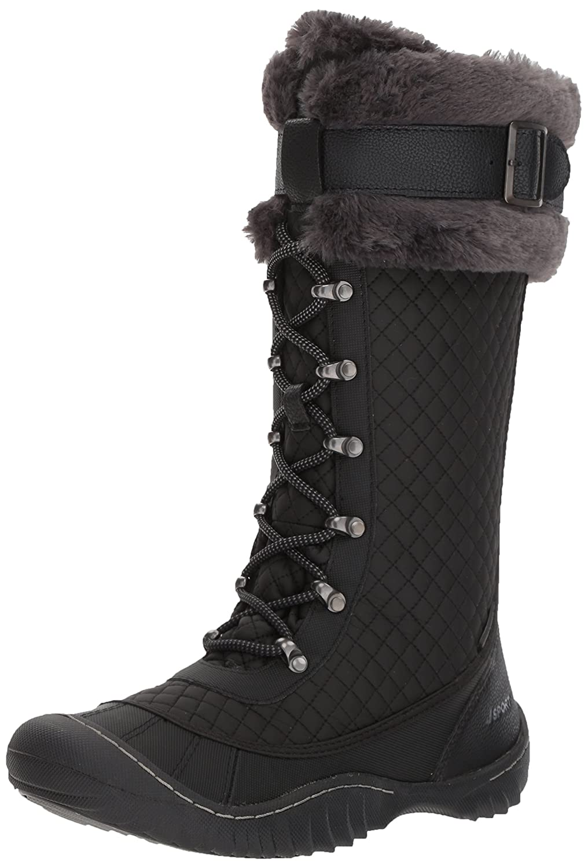 JSport by Jambu Women's Wingate Weather Ready Snow Boot B072594DSC 10 B(M) US|Black