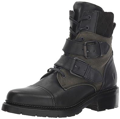 b21971e0752 FRYE Women's Samantha Belted Hiker Hiking Boot