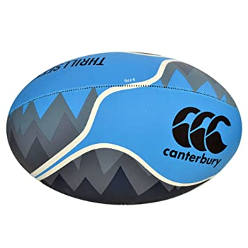 Canterbury Thrillseeker - Balón de Rugby (azul 4: Amazon.es ...