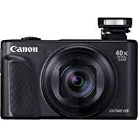 Canon Powershot Digital Camera Canon PowerShot SX740 HS Digital Camera, Black (SX740HSBK)