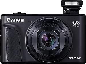 Canon Powershot Digital Camera Canon PowerShot SX740 HS Digital Camera, Black (SX740HSBK)