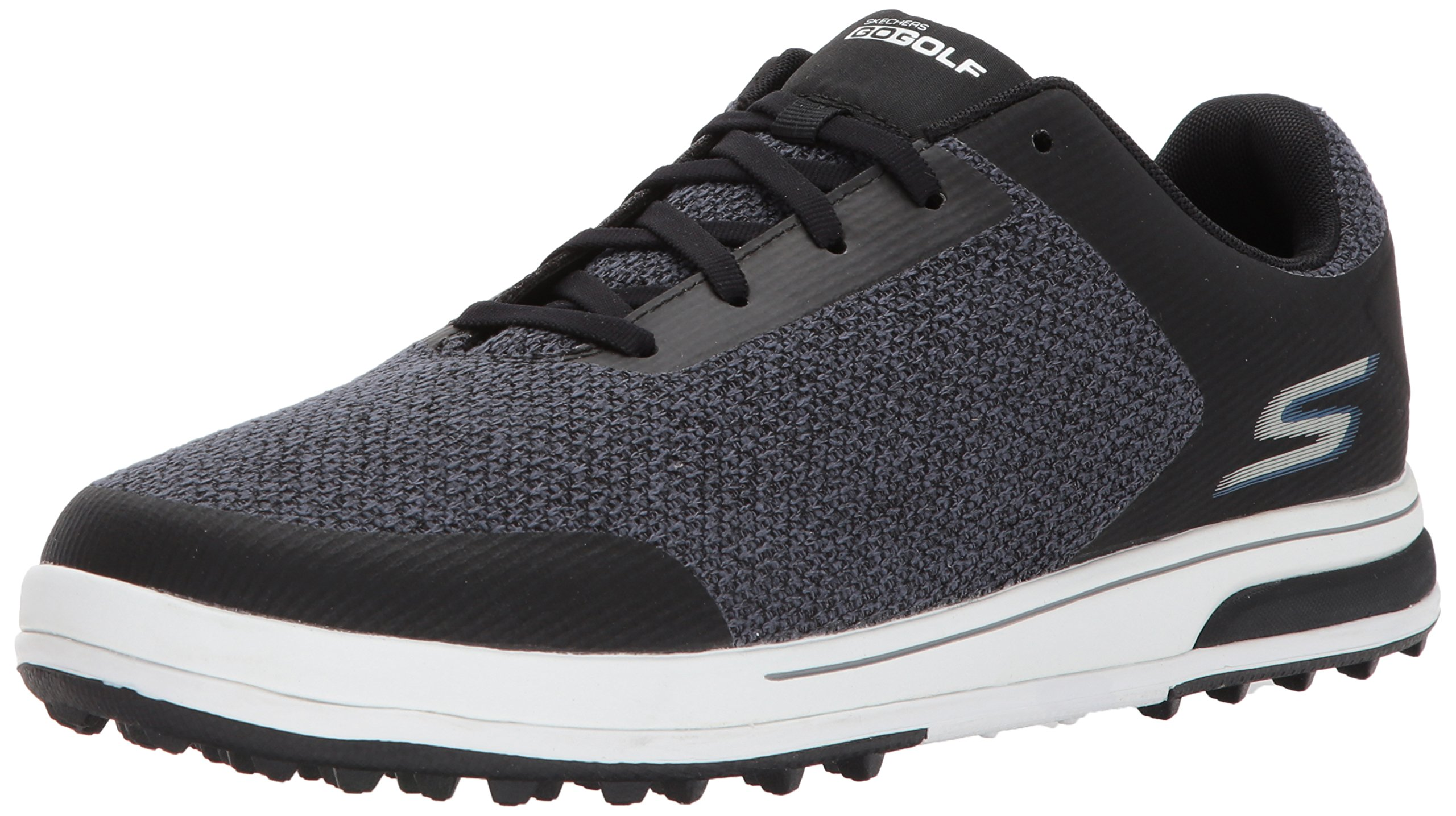 Skechers Men's Go Golf Drive 3 Golf Shoe,Black/Blue,11 M US by Skechers