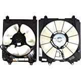 Garage-Pro Cooling Fan Assembly Compatible with HONDA Civic 2006-2011 A/C and Radiator Fan Shroud Assembly 1.8L Eng. Coupe/Se