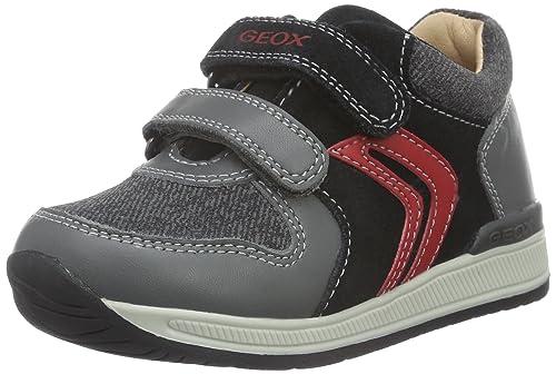 Geox B Rishon Boy A, Botines de Senderismo Bebé-para Niños: Amazon.es: Zapatos y complementos
