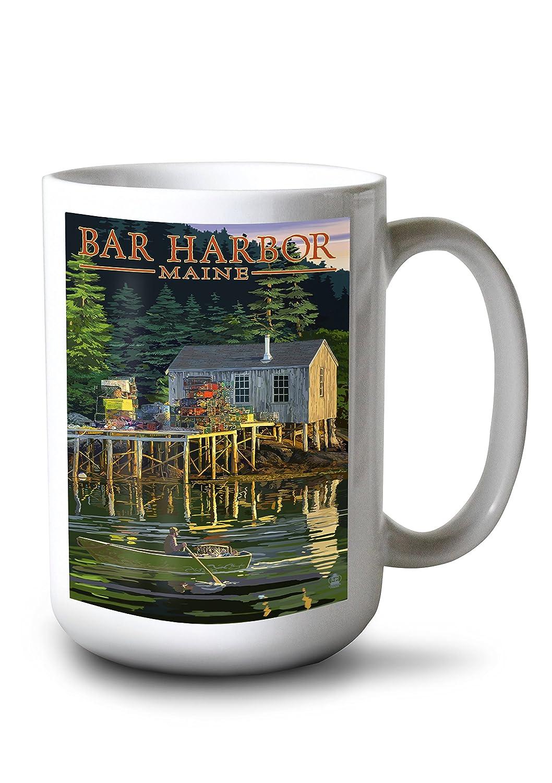 【値下げ】 バー港 LANT-45321-9x12、メイン州 – Lobster 9 Shack 9 x 15oz 12 Art Print LANT-45321-9x12 B077RX4TPR 15oz Mug 15oz Mug, Wood job:80dad850 --- martinemoeykens.com
