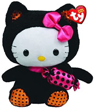 Amazon.com  Ty Beanie Baby Hello Kitty With Cat Outfit And Candy  Toys    Games 3e4dd4318208
