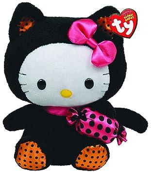 TY Peluche - Beanie Babies (Halloween) Hello Kitty Kitty - 20 cm. (