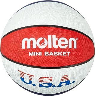 Molten Ballon de basket pour l'entraînement aux couleurs des Etats-Unis Couleurs: bleu/blanc/rouge