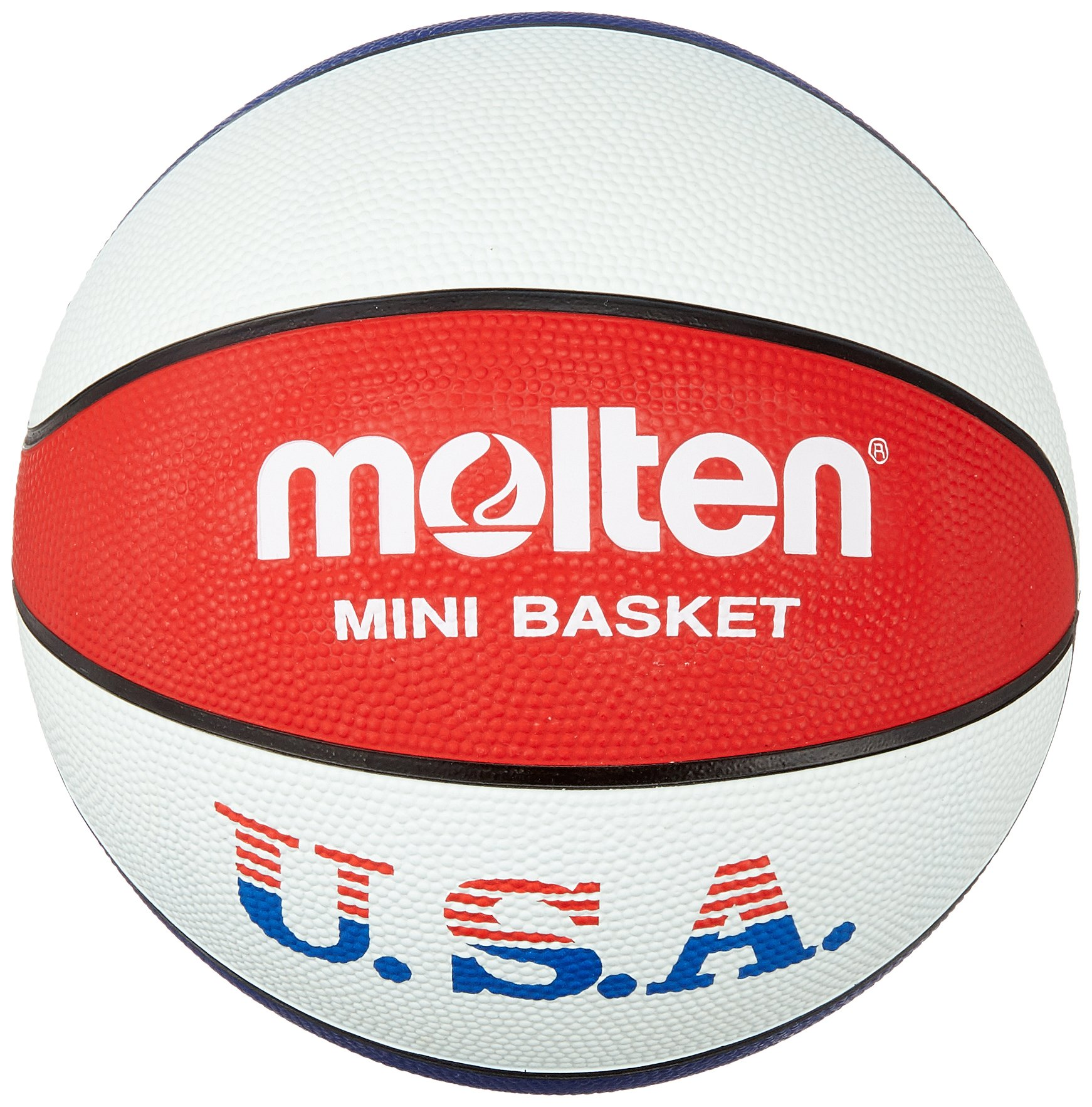 huge discount 7882b 9129e Molten Palla da basket da allenamento, colori USA, colore  Blu Bianco