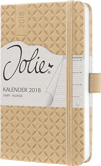Sigel J8106 - Agenda semanal 2018, color ocre